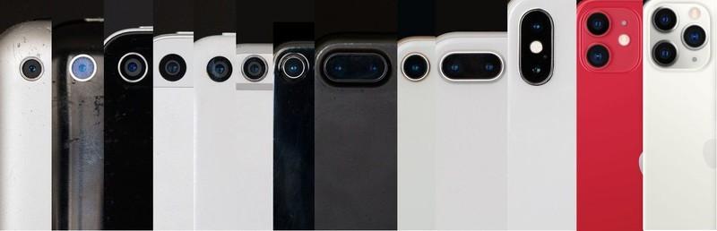 qualidade da câmera de um iPhone é melhor