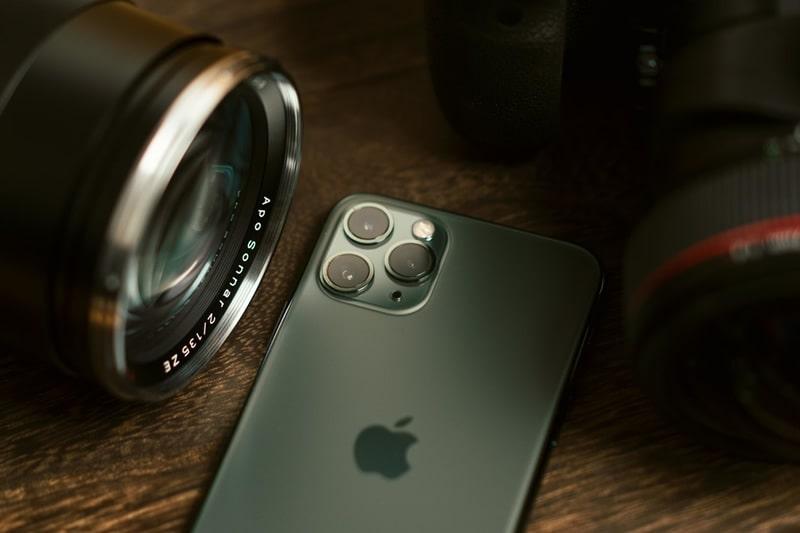 qualidade da câmera de um iPhone